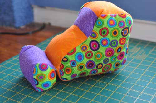 digger softie tutorial with pattern