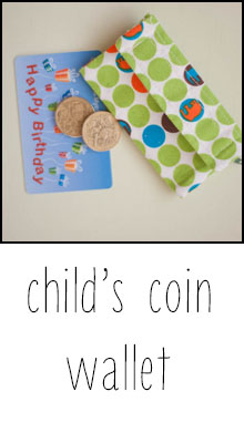 child's wallet tutorial