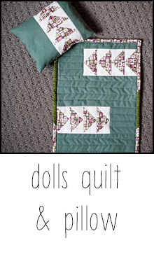 dolls quilt tutorial