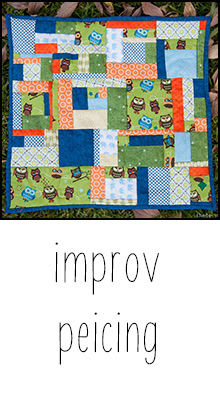 improv piecing tutorial