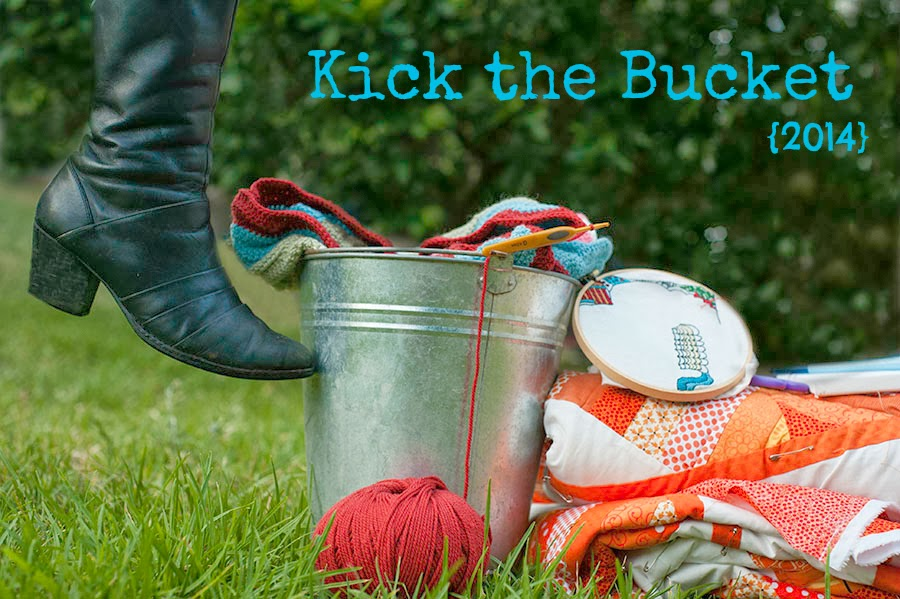 2014 Kick the Bucket WIP challenge