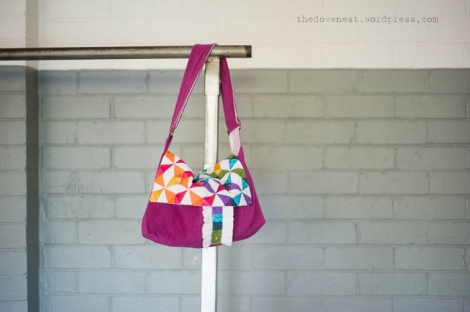 satchel style ballet bag