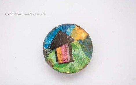 mixed media needle minder